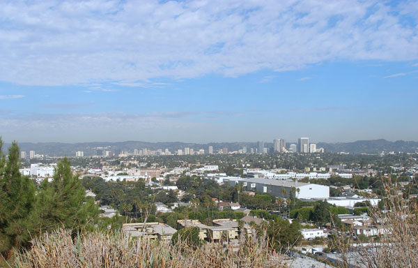 View from top of Culver City Park
