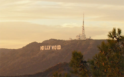 hollywood-sign-from-observatory-sunset