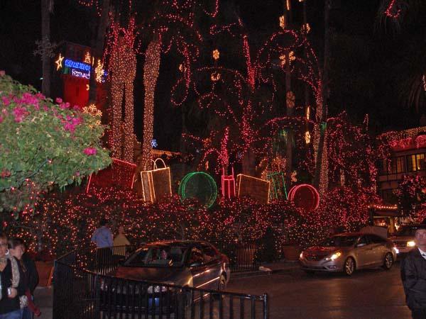 Riverside Mission Inn Festival of Lights