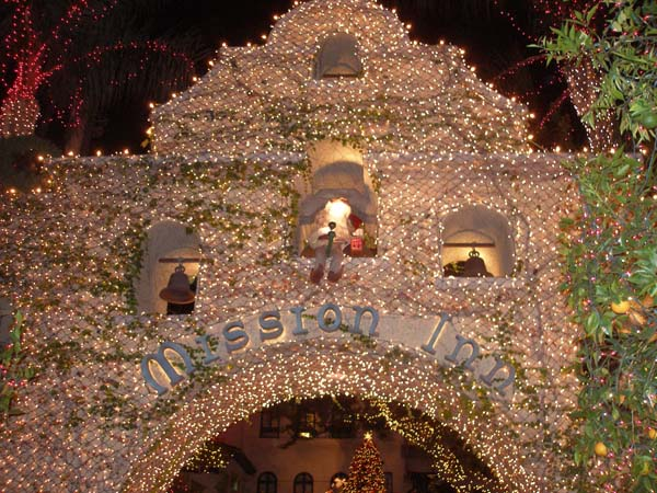 Riverside Mission Inn Festival of Lights