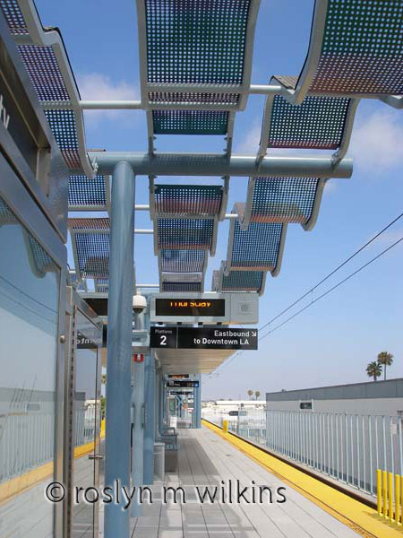 Culver City Expo Line station