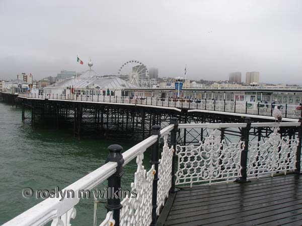 england-brighton pier