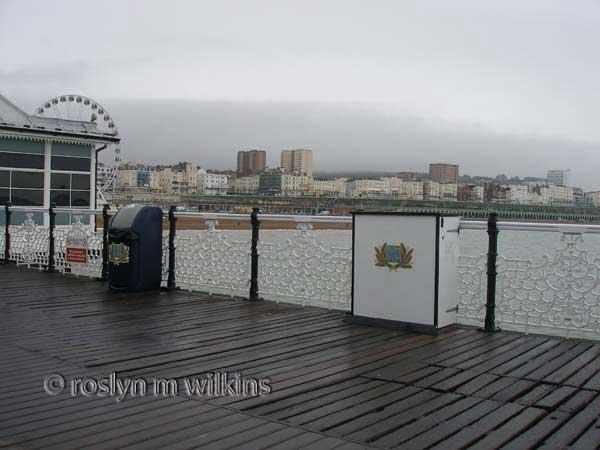 Brighton Pier view