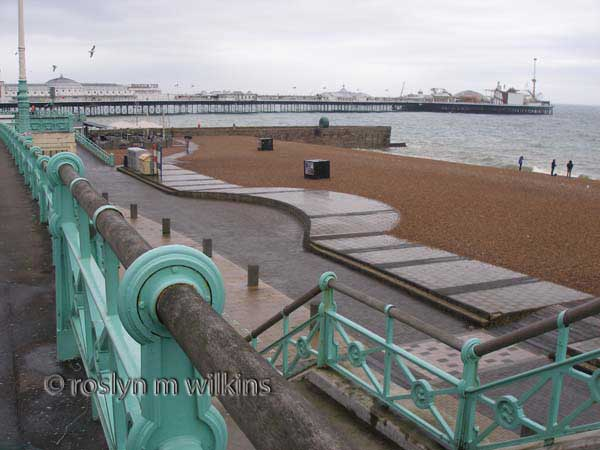 Brighton Pier view from Promenade