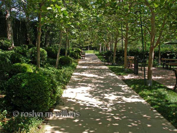 gardens of the world shady spot