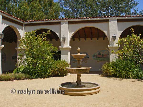 gardens of the world mission courtyard