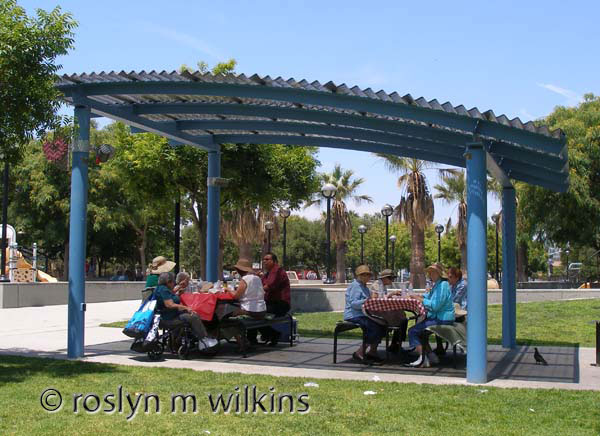 Picnic at Exposition Park