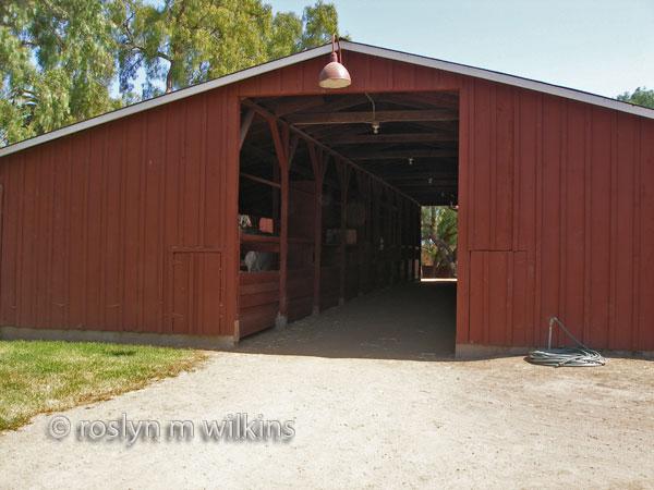 Barn at Rancho Los Alamitos