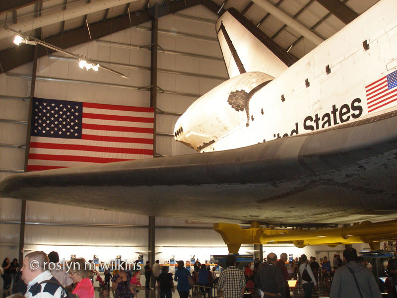 endeavour and flag