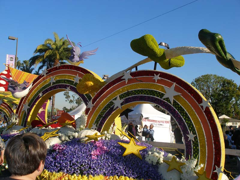rose parade floats