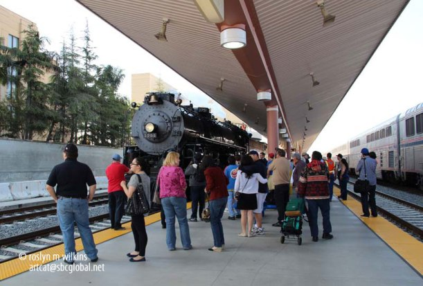 union station steam train