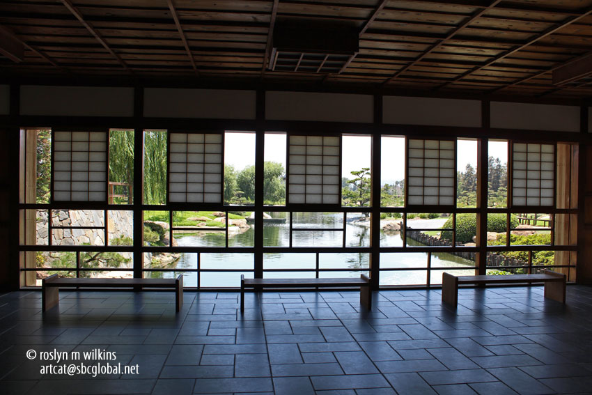The japanese garden at the tillman water reclamation plant for Japanese garden inside house