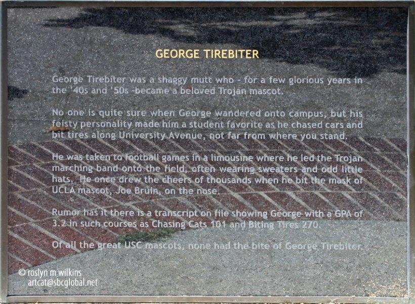 USC george tirebiter
