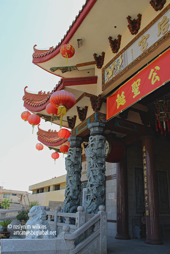 The temple is affiliated with the Camau Association of America, a local benevolent, cultural and religious association primarily serving the local Chinese-Vietnamese refugees from Camau Province, Vietnam. The group also supports Chinese, Vietnamese, Teochew and Thai Chinese communities.