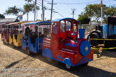 The trackless train... this seemed to be pretty popular