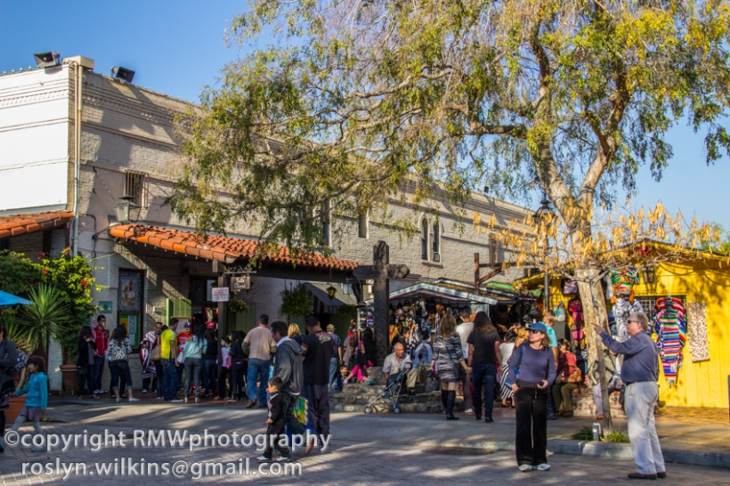 Olvera Street and La Plaza