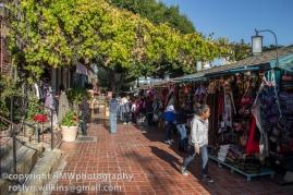 Stalls on Olvera Street