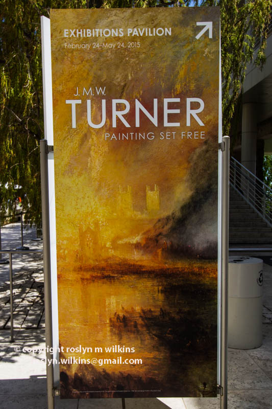 JMW Turner at the Getty Center