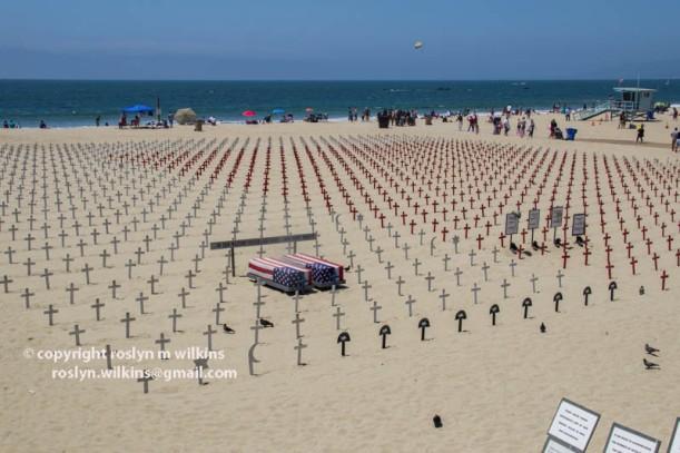 santa monica beach veterans for peace