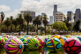 """Someone left the """"cakes"""" out in the rain at MacArthur Park"""