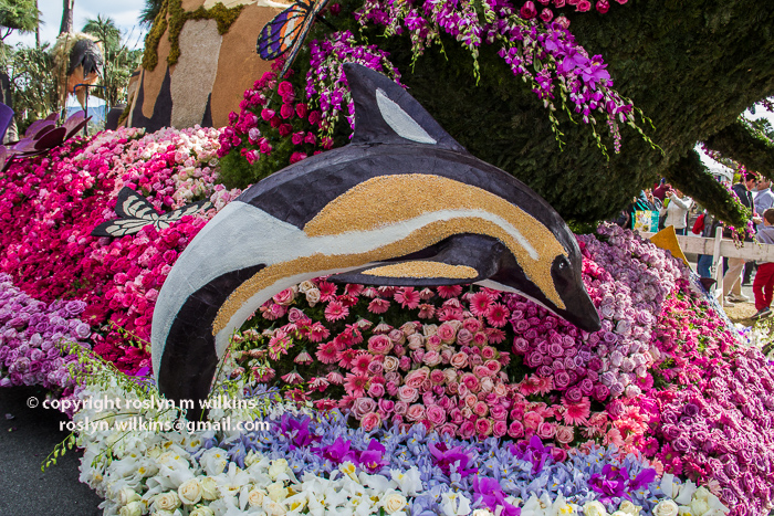 post rose parade floats