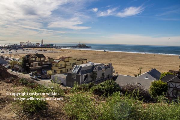 santa monica pier and palisades park