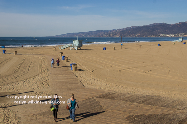 santa monica pier and palisades park