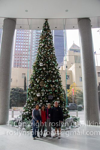Downtown Los Angeles decorations