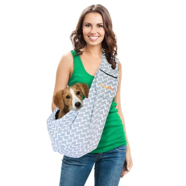 Frankie in a sling